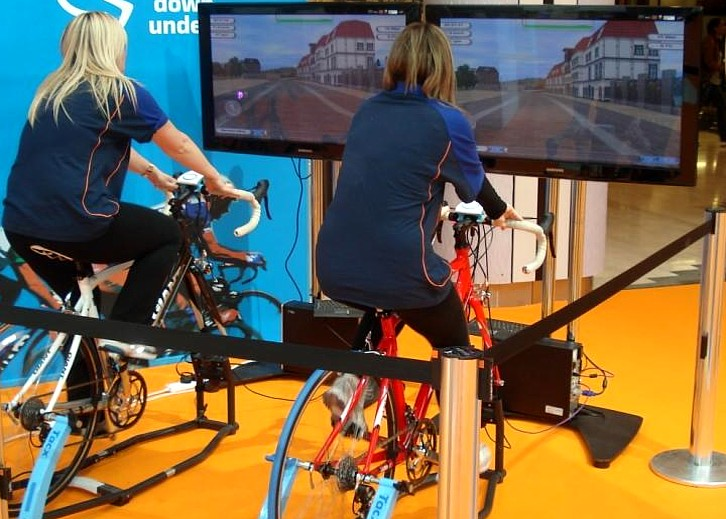 Bicycle Simulators For Hire Bike Racing Games For Events